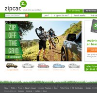zipcar.com screenshot