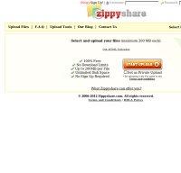 zippyshare.com screenshot