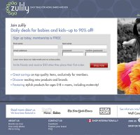 zulily.com screenshot