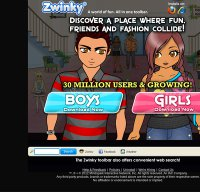 zwinky.com screenshot